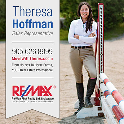 From Houses to Horse Farms - Theresa Hoffman Remax Sales Representative East